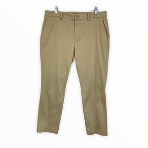 Ralph Lauren Cropped Chino Pants Slim Straight 12
